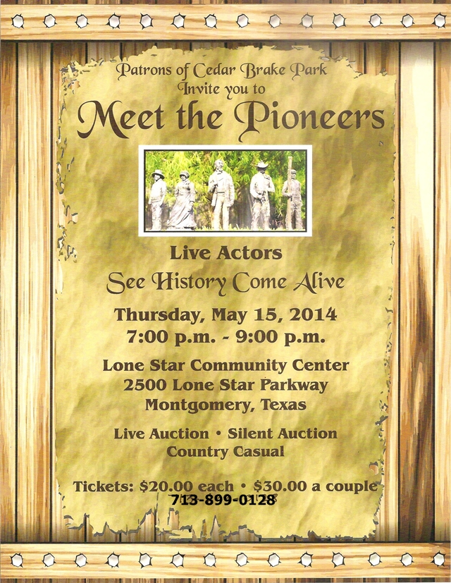 Meet the Pioneers of Montgomery Live!