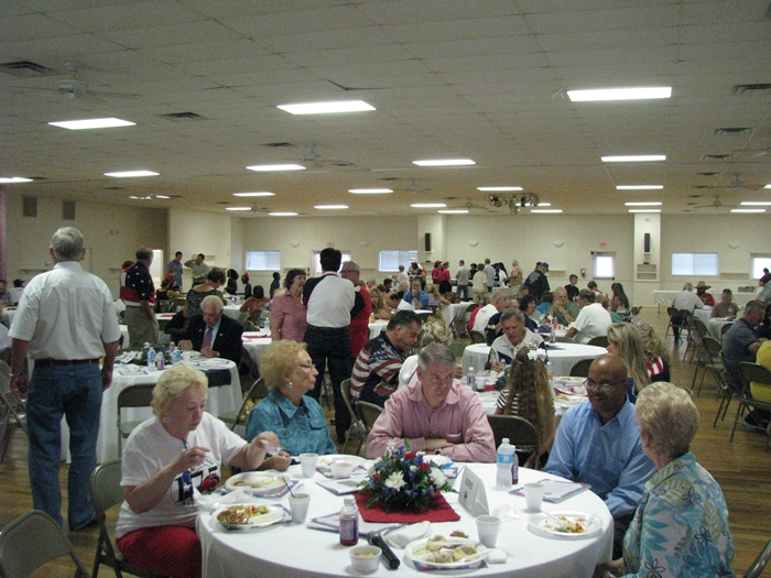 Montgomery Texas Founders Day Breakfast 2012